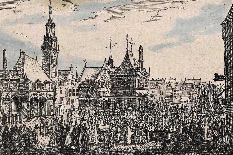 Tulpanmanin marknadsplats