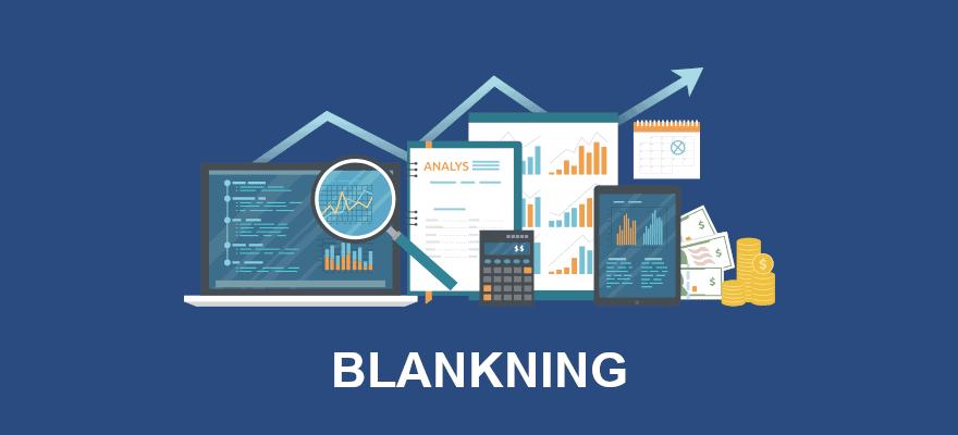 Blankning