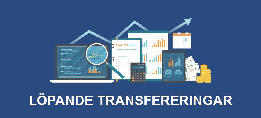 Löpande transfereringar