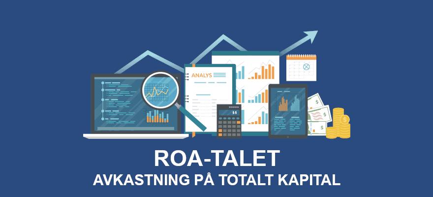 ROA-talet (avkastning på totalt kapital)